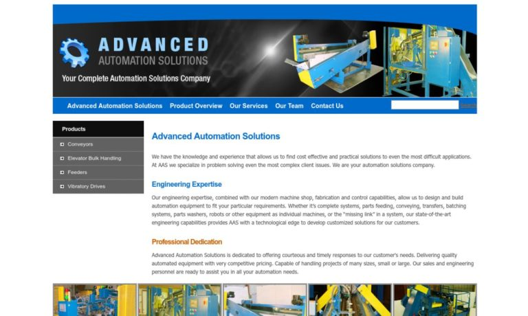 Advanced Automation Solutions