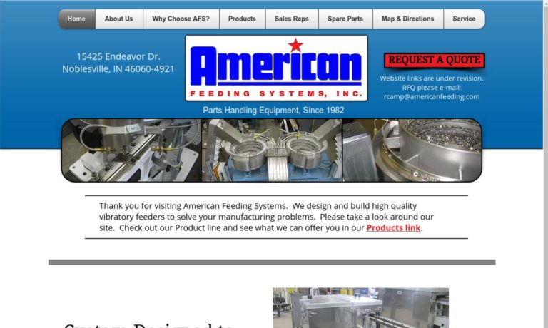 American Feeding Systems, Inc.