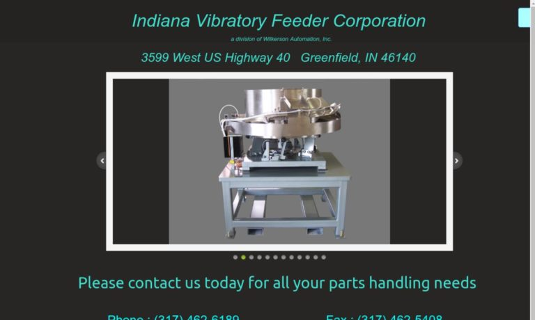 Indiana Vibratory Feeder Corporation