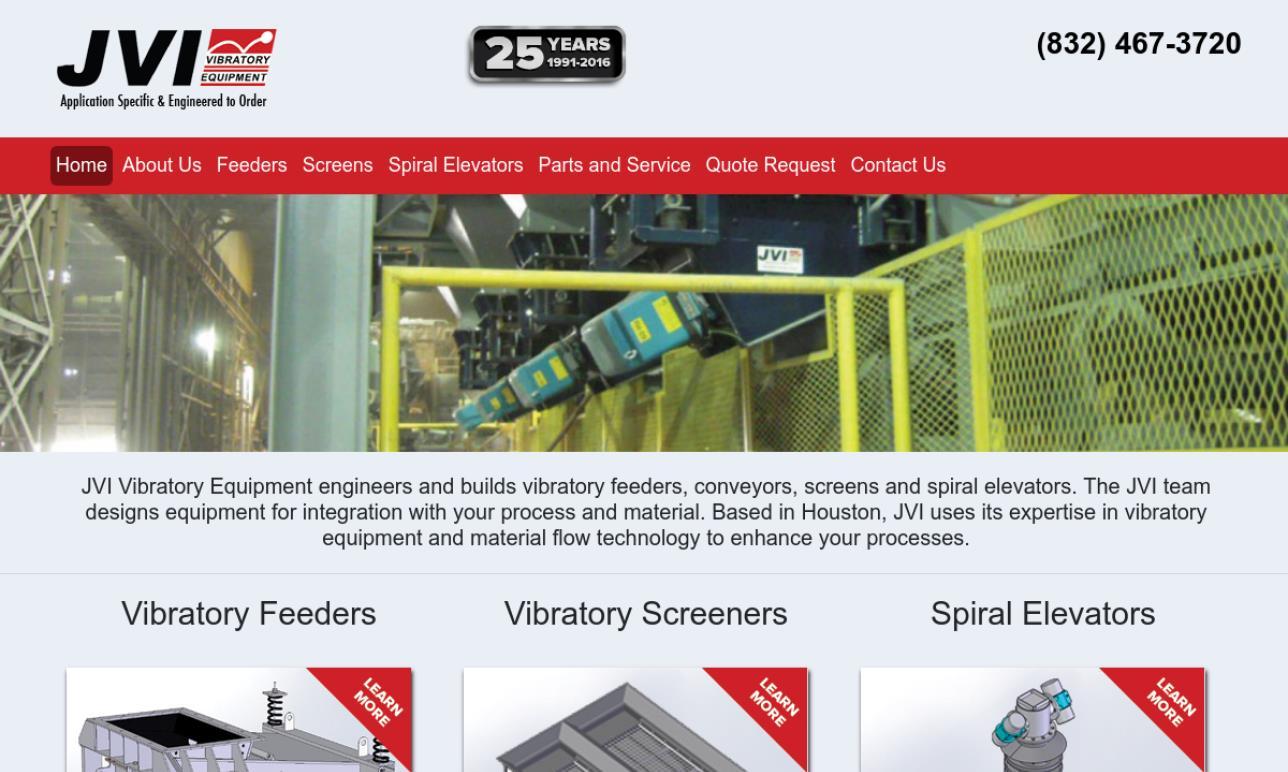 JVI Vibratory Equipment