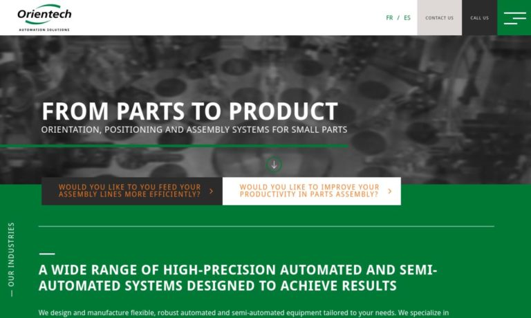 Orientech Automation Solutions Inc.