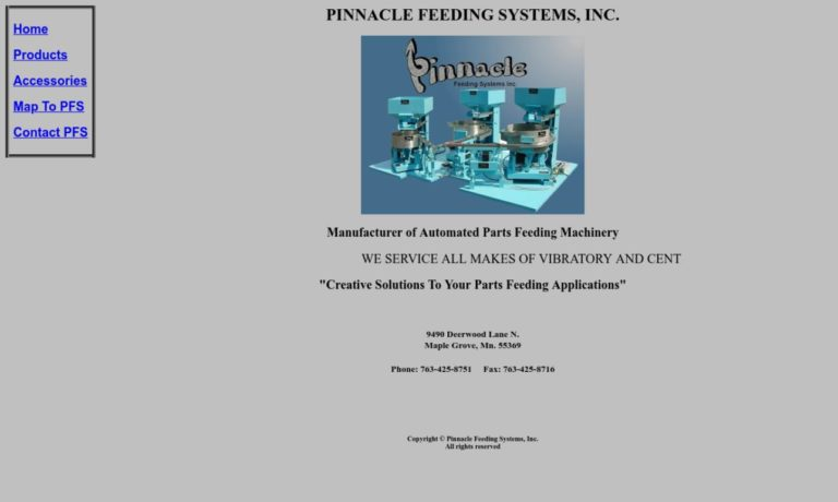 Pinnacle Feeding Systems, Inc.