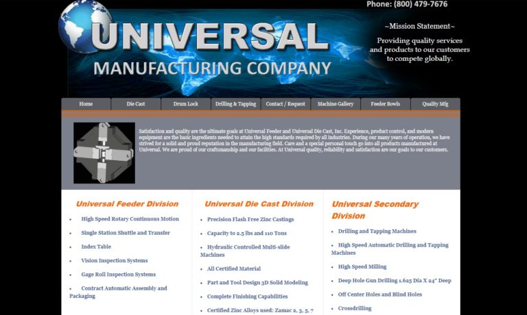 Universal Manufacturing Group
